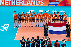 11-10-2018 JPN: World Championship Volleyball Women day 12, Nagoya<br /> Netherlands - Serbia 3-0 / Team Netherlands