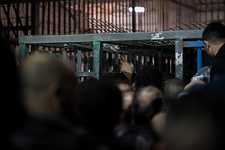 8 October 2018, Jerusalem, Occupied Palestinian Territories: Today is a Monday, and Qalandiya is crowded with men of all ages queuing to go to work. People are let through intermittently, some 20-50 people at a time, all under careful control of Israeli security personnel. Qalandiya is the main checkpoint between the northern West Bank and Jerusalem, where thousands upon thousands of Palestinians try to make their way to Jerusalem each day. Ecumenical accompaniers (EAs) from the World Council of Churches' Ecumenical Accompaniment Programme in Palestine and Israel (WCC-EAPPI) visit regularly in the early mornings. Their task is to be an international presence and to show solidarity, offer basic support to anyone denied passage, and collect documentation of the situation at the checkpoint. EAs' reports feed into the UN system, providing ongoing monitoring of the human rights situation in Israel and Palestine.
