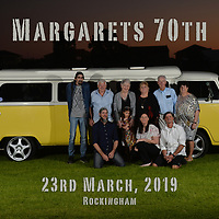 Margaret's 70th - 23rd March, 2019