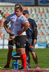 Torsten van Jaarsveld of the Free State Cheetahs during the Currie Cup Premier division match between the The Free State Cheetahs and the Eastern Province Kings held at Toyota Stadium (Free State Stadium), Bloemfontein, South Africa on the 3rd September 2016<br /> <br /> Photo by:   Frikkie Kapp / Real Time Images