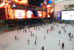 Ice Rink inside Dubai Mall, UAE
