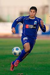 Naser Kajtazi of Drava at 18th Round of PrvaLiga football match between NK Olimpija and NK Labod Drava, on November 21, 2009, in ZAK, Ljubljana, Slovenia. Olimpija defeated Drava 3:0. (Photo by Vid Ponikvar / Sportida)