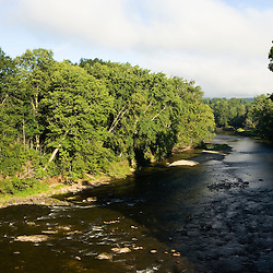 The Sugar River in Claremont, New Hampshire.