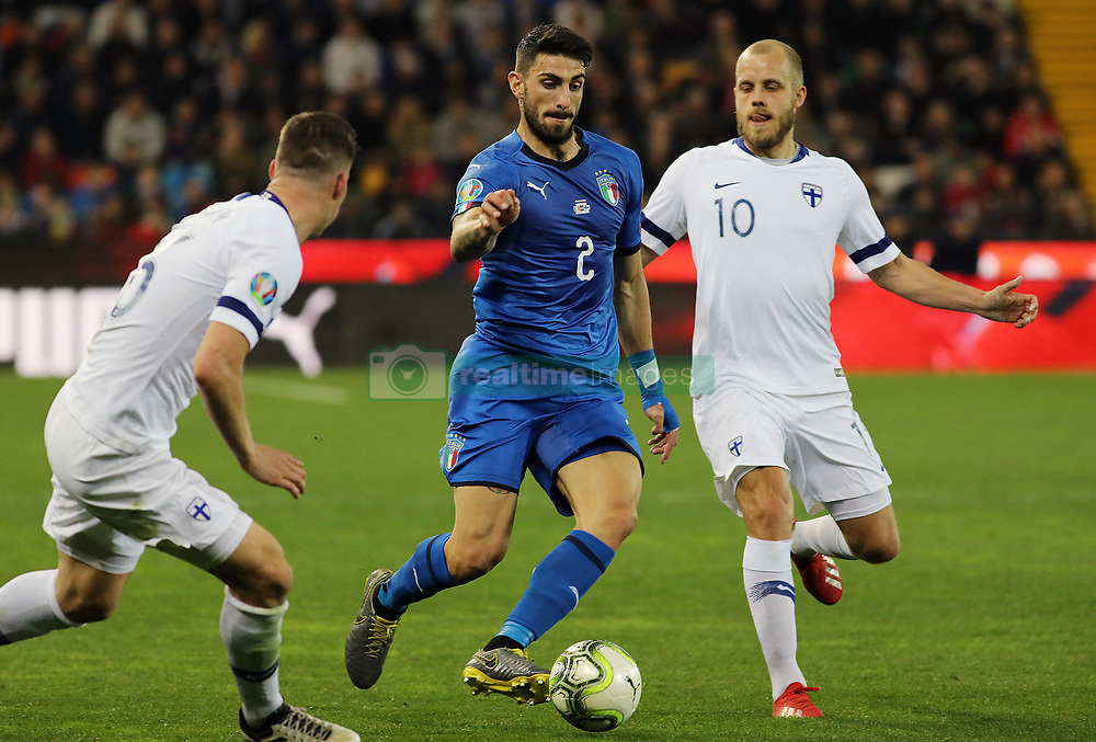 "March 23, 2019 - Udine, Italia - Foto LaPresse/Andrea Bressanutti.23/03/2019 Udine (Italia).Sport Calcio.Italia vs. Finlandia - European Qualifiers - Stadio ""Dacia Arena"".Nella foto: piccini..Photo LaPresse/Andrea Bressanutti.March  23, 2019 Udine (Italy).Sport Soccer.Italy vs Finland - European Qualifiers  - ""Dacia Arena"" Stadium .In the pic: piccini (Credit Image: © Andrea Bressanutti/Lapresse via ZUMA Press)"