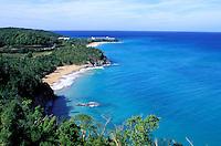 France - Département d'Outre mer de la Guadeloupe (DOM)- Basse Terre - pointe du petit bas vent