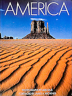 AMERICA introduction by James Michener, (Rizzoli, 1990)<br /> <br /> This book is a joyous celebration! Its sparkling photographs remind us of the extraordinary land our nation occupies, and a review of them shows us how fortunate we are to live where we do.<br /> <br /> Review: Chosen by the Today Show of NBC as one of the best picture books of 1990. Currently in its 4th printing with over 150,000 copies sold. It also has been published in German and French editions.