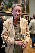 MICHAEL HOLROYD, Tate Britain Summer party. Tate. Millbank. 27 June 2011. <br /> <br />  , -DO NOT ARCHIVE-© Copyright Photograph by Dafydd Jones. 248 Clapham Rd. London SW9 0PZ. Tel 0207 820 0771. www.dafjones.com.