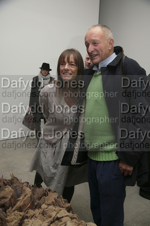 Sir Richard and Lady Ruth Rogers, Aperiatur Terra, Private View of work by  Anselm Kiefer<br />
