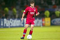 Fotball<br /> UEFA Champions League 2003/2004<br /> Lyon v Anderlecht<br /> 17.09.2003<br /> NORWAY ONLY<br /> Foto: Digitalsport<br /> <br /> FOOTBALL - CHAMPIONS LEAGUE 2003/04 - 1ST ROUND - 030917 - OLYMPIQUE LYONNAIS v RSC ANDERLECHT - JUNINHO (LYON) - PHOTO STEPHANE MANTEY