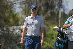 March 21, 2018 - Austin, TX, U.S. - AUSTIN, TX - MARCH 21: Jordan Spieth (USA) walks down the fairway during the First Round of the WGC-Dell Technologies Match Play on March 21, 2018 at Austin Country Club in Austin, TX. (Photo by George Walker/Icon Sportswire) (Credit Image: © George Walker/Icon SMI via ZUMA Press)