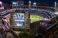 PETCO Park, Home of the San Diego Padres  Baseball Team (MLB)