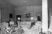 19/08/1966<br /> 08/19/1966<br /> 19 August 1966<br /> United States Ambassador's residence, Phoenix Park, Dublin. A view of the Drawing Room.