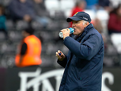 Director or Rugby Alan Solomons during the pre match warm up<br /> <br /> Photographer Simon King/Replay Images<br /> <br /> European Rugby Challenge Cup Round 5 - Ospreys v Worcester Warriors - Saturday 12th January 2019 - Liberty Stadium - Swansea<br /> <br /> World Copyright © Replay Images . All rights reserved. info@replayimages.co.uk - http://replayimages.co.uk