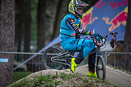 #241 (GOMMERS Ruben) BEL at Round 6 of the 2018 UCI BMX Superscross World Cup in Zolder, Belgium