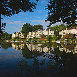 Lake Audobon in Reston on an early fall morning  Around Reston