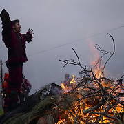 The Entrudo (or Shrovetide) festivities at Vila Boa (small village in Portugal's Trás-Os-Montes region), a traditional carnival celebration that dates back to the pre-christian winter solstice traditions.