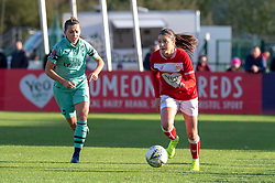 Carla Humphrey of Bristol City - Mandatory by-line: Paul Knight/JMP - 28/10/2018 - FOOTBALL - Stoke Gifford Stadium - Bristol, England - Bristol City Women v Arsenal Women - FA Women's Super League
