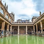Roman Baths / Bath / England