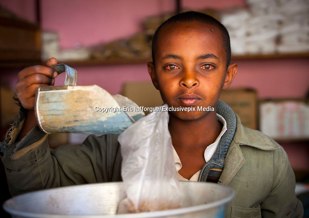 Eritrea: the North Korea of Afric<br /> <br /> With  an  average  income  per  person  of  only  300  dollars,  Eritrea  is  one  of  the  10 poorest  countries  in  the  world.    Its  population  depends  on  remittances  from  the large diaspora (of which the Eritrean government takes 2%) to meet its basic needs. The exchange rate on the black market makes it possible to get twice the amount of nafka, the local currency, than the official government issued rate would suggest.<br /> According  to  2013  estimates,  life  expectancy  is  61  years  for  men,  65.4  for  women.  Eritrea  ranks  181  out  of  187  in  the  UN-issued  human  development  index  which measures health, education, and living standards (2012).<br /> <br /> Total government spending on health in 2011: 17 dollars per person...<br /> The  head  of  state  since  independence  in  1993,  President  Issayas  Afeworki,  has centralized power into a government dictatorship.  The process of democratization, started   in   1997   with   the   adoption   of   a   new   constitution,   has   been   entirely abandoned. The  suppression  of  liberties  and  basic  human  rights  of  this  regime  is  astounding: only a single political party exists, the justice system is directly under the executive branch,  the  number  of  political  prisoners  is  increasing  regularly,  freedom  of  the press is nonexistent, arbitrary arrests are rampant, and habeas corpus is unheard of.  The image of the president is rarely seen but his presence is constantly felt.<br /> <br /> Just  like  in  North  Korea,  Eritrea  boasts  a  self-sufficient  political-economic  system but  fails  to  meet  the  most  basic  dietary  needs  of  its  population.    This  is  best symbolized by Asmara's metal market, where all this is metallic is recycled. There is no room for waste. <br /> <br /> In  2010,  Eritrea  received  a  total  of  121  million  euros  in  official  development assistance. In November 2011, Eritrea decid