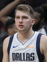 December 20, 2018 - Los Angeles, California, U.S - Luka Doncic #77 of the Dallas Mavericks during their NBA game with the Los Angeles Clippers on Thursday December 20, 2018 at the Staples Center in Los Angeles, California. Clippers defeat Mavericks, 125-121. (Credit Image: © Prensa Internacional via ZUMA Wire)