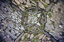 Stone Floor Decoration