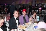 DEBORAH CURTIS; GAVIN TURK, Grey Goose Winter Ball to benefit the Elton John Aids Foundation. Battersea Power Station. London. 10 November 2012.