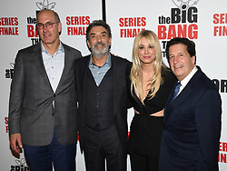 May 1, 2019 - JOHN CHUCK, CHUCK LORRE, KALEY CUOCO and PETER ROTH attends The Big Bang Theory's Series Finale Party at the The Langham Huntington. Photo Credit: Billy Bennight/AdMedia (Credit Image: © Billy Bennight/ZUMA Wire)