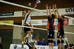 20170125 NED: Beker, Sliedrecht Sport - Seesing Personeel Orion: Sliedrecht<br />Michael van Leeuwe (4) of Sliedrecht Sport <br />©2017-FotoHoogendoorn.nl / Pim Waslander