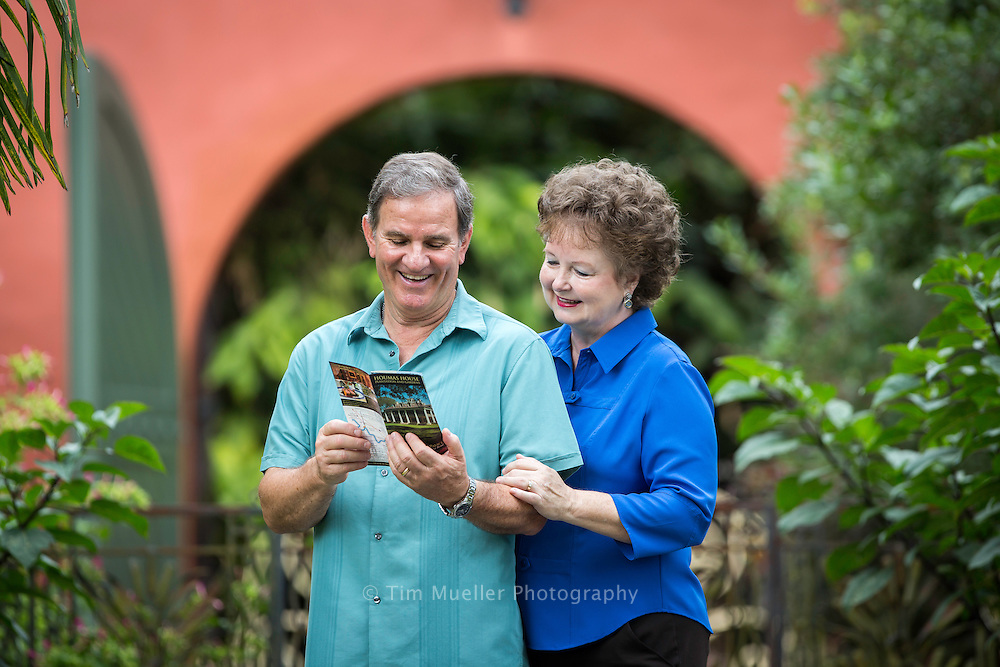 David and Debbie Lambert tour Houmas House Plantation which is located near Burnside, Louisiana.