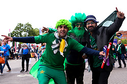Pakistan fans ahead of their sides Cricket World Cup fixture against India at Old Trafford- Mandatory by-line: Robbie Stephenson/JMP - 16/06/2019 - CRICKET- Old Trafford - Manchester, England - India v Pakistan - ICC Cricket World Cup 2019 group stage