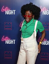 Sophie Duker attending the LATE NIGHT Gala Screening at Picture House Central, London. Picture dated: Monday May 20, 2019. Photo credit should read: Isabel Infantes / EMPICS Entertainment.