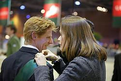 Ehning Markus (GER), Fernanda Ameeuw (BEL)<br /> Rolex IJRC Top 10 Final - Paris 2009<br /> Photo © Dirk Caremans