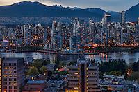 Vancouver Skyline @ Dusk