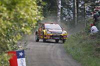 MOTORSPORT - WORLD RALLY CHAMPIONSHIP 2010 - NESTE OIL RALLY FINLAND / RALLYE DE FINLANDE - JYVASKYLA (FIN) - 29 TO 31/08/2010 - PHOTO : FRANCOIS BAUDIN / DPPI - <br /> PETTER SOLBERG / CHRIS PATTERSON - PETTER SOLBERG WORLD RALLY TEAM CITROEN C4 WRC - ACTION