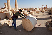 Palmyra, Syria. Ancient city in the desert that fell into disuse after the 16th century.