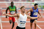 Kevin Mayer competes and wins men triathlon (110m hurdles) during the Meeting de Paris 2018, Diamond League, at Charlety Stadium, in Paris, France, on June 30, 2018 - Photo Philippe Millereau / KMSP / ProSportsImages / DPPI