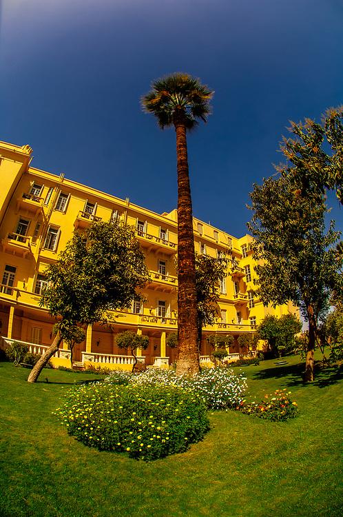 Gardens, Sofitel Winter Palace Hotel on the Corniche, Luxor, Egypt