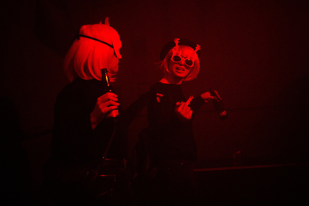 Germany, Berlin, 2018/03/04<br /> <br /> Purim party at an underground techno Club