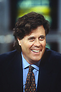 American journalist and author David Maraniss appears on NBC's Meet the Press talk show May 5, 1996 in Washington, DC.