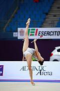 Eleni Kelaiditi was born on April 1, 2000 in Cholargos, Greece. It is a very elegant individual Greek rhythmic gymnast.