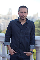 American Writer and Journalist Jeremy Scahill.<br /> American Writer and Journalist Jeremy Scahill poses for DyD Fotografos-DyD for his Book and film Dirty wars, (Guerras Sucias),  in Madrid, Spain. Saturday, 12th October 2013. Picture by DyD Fotografos / i-Images.<br /> <br /> SPAIN OUT