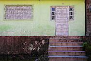 House in Manzanillo, Granma, Cuba.