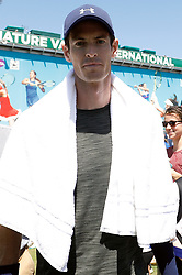 Andy Murray during day four of the Nature Valley International at Devonshire Park, Eastbourne.