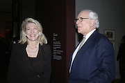 Lynn Forrester de Rothschild and her husband Evelyn de Rothschild, Hogarth private view and dinner. Tate Britain. London. 5 February 2007.  -DO NOT ARCHIVE-© Copyright Photograph by Dafydd Jones. 248 Clapham Rd. London SW9 0PZ. Tel 0207 820 0771. www.dafjones.com.