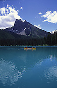 Canoe, Emerald Lake Lodge, Yoho National Park, B.C., Canada<br />