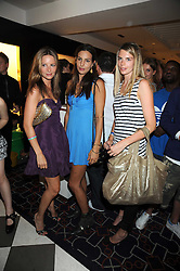 Left to right, sisters JESSICA SIMON, ZARA SIMON and CAMILLA SIMON at the PPQ of Mayfair Summer Party at 47 Conduit Street, London on 30th July 2008.<br /> <br /> NON EXCLUSIVE - WORLD RIGHTS
