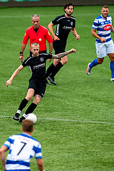 Joeri Kuijer in action. First friendly match after the Corona outbreak. VV Maarssen lost the away match against big league Spakenburg 5-1 on 4 July 2020 in Spakenburg.