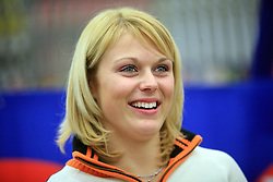 Nina Katarina Mihovilovic at press conference of Slovenian men and women alpine skiing national team before new season 2008/2009 in Hervis, City park, BTC, Ljubljana, Slovenia, on October 20, 2008.  (Photo by: Vid Ponikvar / Sportal Images).