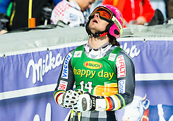 SANDELL Marcus of Finland reacts during Men Giant Slalom race of FIS Alpine Ski World Cup 54th Vitranc Cup 2015, on March 14, 2015 in Kranjska Gora, Slovenia. Photo by Vid Ponikvar / Sportida