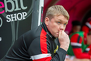 Doncaster Rovers Manager Grant McCann during the EFL Sky Bet League 1 match between Doncaster Rovers and Bradford City at the Keepmoat Stadium, Doncaster, England on 22 September 2018.